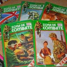 Tebeos: ZONA DE COMBATE EXTRA, LOTE DE 5, VER RALACIÓN- MUY BUEN ESTADO. Lote 137133786