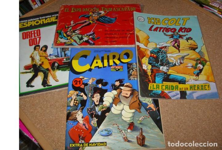 LOTE DE 10 COMIC Y TEBEOS VARIADOS, VER RELACIÓN BUEN ESTADO- IMPORTANTE LEER LISTADO (Tebeos y Comics - Tebeos Pequeños Lotes de Conjunto)