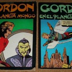 Tebeos: GORDON EN EL PLANETA MONGO, COMPLETA EN SUS DOS VOLUMENES, EDICIONES B.O.-LEER TODO. Lote 137200018