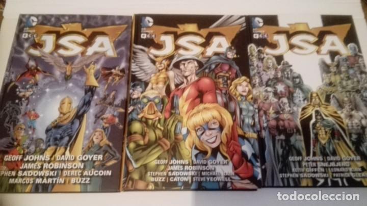 JSA ECC 3 TOMOS 1-2-4 (Tebeos y Comics - Tebeos Colecciones y Lotes Avanzados)