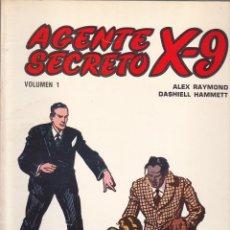 Tebeos: COLECCION COMPLETA AGENTE SECRETO X-9 EDICIONES B.O. 7 EJEMPLARES . Lote 137283510