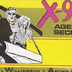Tebeos: COLECCION COMPLETA X-9 AGENTE SECRETO 3 EJEMPLARES EDITORIAL IMPALA . Lote 137284626