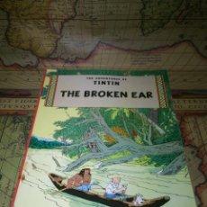 Tebeos: LOTE. THE ADVENTURES OF TINTIN. EN INGLÉS. CINCO TOMOS. EDICIONES DEL PRADO 1989.. Lote 137350774