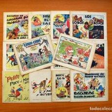 Tebeos: ESPAÑOLA (MONOGRÁFICOS) - EDITORIAL ESPAÑOLA 1939 - COMPLETA 14 EJEMPLARES. Lote 137402154
