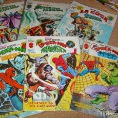 Tebeos: SUPER HEROES PRESENTA SPIDERMAN , MOTORISTA FANTASMA LOTE 6 EJEMPLARES VER RELACIÓN. Lote 137506526