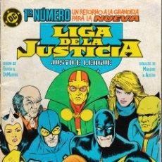 Livros de Banda Desenhada: LIGA DE LA JUSTICIA / INTERNACIONAL / AMÉRICA. ZINCO 1988. COMPLETA 54 EJEMPLARES + 5 EXTRAS. Lote 137519201
