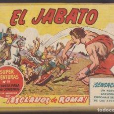 Tebeos: EL JABATO. BRUGUERA 1958. COMPLETA 381 EJEMPLARES. Lote 137522170
