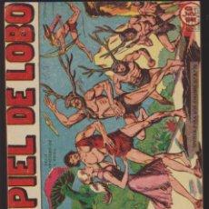 Tebeos: PIEL DE LOBO. MAGA 1959. 55 EJEMPLARES ENCUADERNADOS DEL 1 AL 55. Lote 137526382