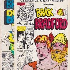Tebeos: BRICK BRADFORD - COMPLETA DOS EPISODIOS . Lote 137808342