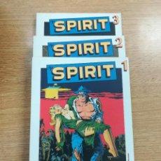 Tebeos: THE SPIRIT (BIBLIOTECA GRANDES HEROES DEL COMIC - EL MUNDO) COLECCION COMPLETA (3 TOMOS). Lote 137972641