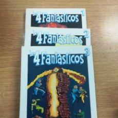 Tebeos: 4 FANTASTICOS (BIBLIOTECA GRANDES HEROES DEL COMIC - EL MUNDO) COLECCION COMPLETA (3 TOMOS). Lote 137972649