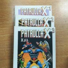Tebeos: PATRULLA X (BIBLIOTECA GRANDES HEROES DEL COMIC - EL MUNDO) COLECCION COMPLETA (3 TOMOS). Lote 137972665
