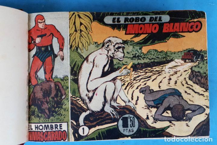 COLECCION EL HOMBRE ENMASCARADO , COMPLETA ,ENCUADERNADA , DEL 1 AL 38 ,HISPANO AMERICANA ,ORIGINAL (Tebeos y Comics - Tebeos Colecciones y Lotes Avanzados)