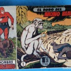 Tebeos: COLECCION EL HOMBRE ENMASCARADO , COMPLETA ,ENCUADERNADA , DEL 1 AL 38 ,HISPANO AMERICANA ,ORIGINAL. Lote 138045730