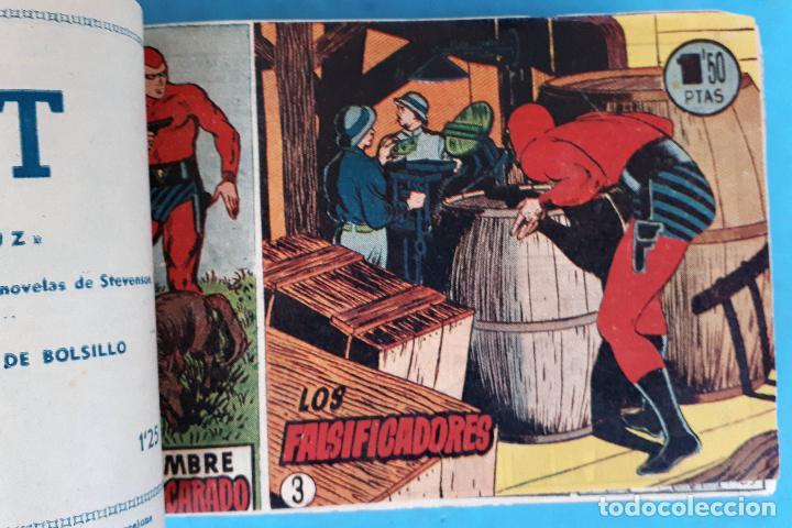 Tebeos: COLECCION EL HOMBRE ENMASCARADO , COMPLETA ,ENCUADERNADA , DEL 1 AL 38 ,HISPANO AMERICANA ,ORIGINAL - Foto 3 - 138045730