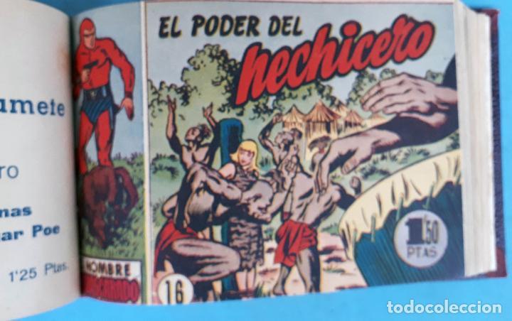 Tebeos: COLECCION EL HOMBRE ENMASCARADO , COMPLETA ,ENCUADERNADA , DEL 1 AL 38 ,HISPANO AMERICANA ,ORIGINAL - Foto 7 - 138045730