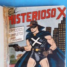 Tebeos: COLECCION EL MISTERIOSO X , COMPLETA , ENCUADERNADA , 1 AL 31 , EDITORIAL GARGA , ORIGINAL. Lote 138053530