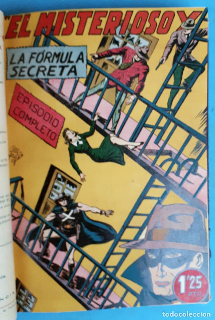 Tebeos: COLECCION EL MISTERIOSO X , COMPLETA , ENCUADERNADA , 1 AL 31 , EDITORIAL GARGA , ORIGINAL - Foto 4 - 138053530