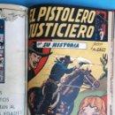 Tebeos: COLECCION , 2 COLECCIONES , EL PISTOLERO JUSTICIERO Y EL HOMBRE ENMASCARADO , 1 TOMO , ORIGINALES. Lote 138055298