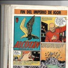 Tebeos: ALCOTÁN, AÑO 1.952. COLECCIÓN COMPLETA SON 12. TEBEOS ORIGINALES MUY NUEVOS EDITORIAL CLIPER.. Lote 138065430