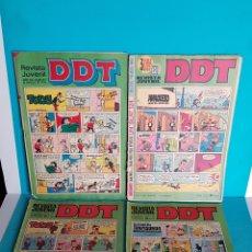 Tebeos: LOTE REVISTAS DDT 273 152 105 Y 65. Lote 138082296