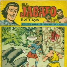 Tebeos: JABATO EXTRA ORIGINAL Y COMPLETA 51 EJEMPLARES. Lote 138531414