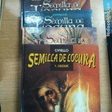 Tebeos: SEMILLA DE LOCURA COLECCIÓN COMPLETA (4 TOMOS). Lote 138565565