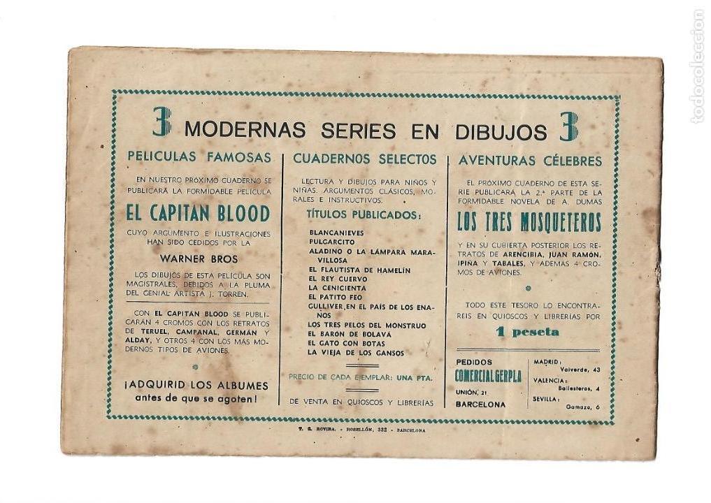 Tebeos: Peliculas Famosas, Año 1.944. Colección Completa son 33. Tebeos Originales Editorial Cliper. - Foto 5 - 138737574