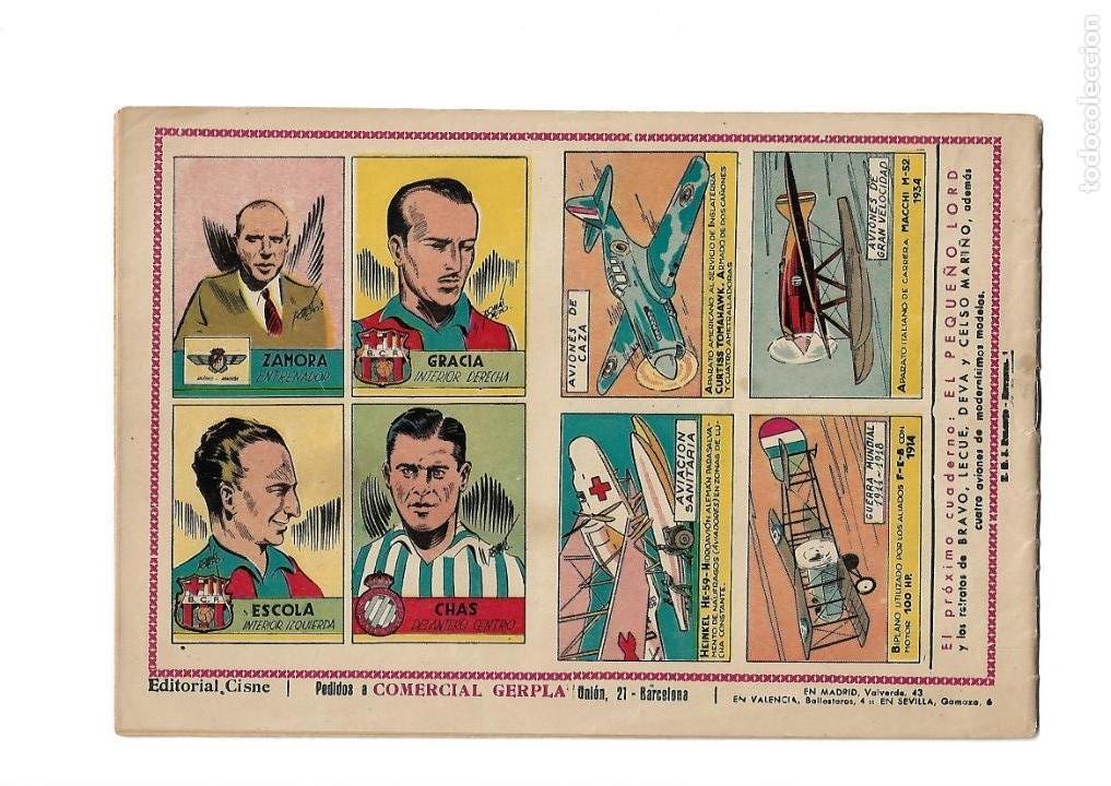 Tebeos: Peliculas Famosas, Año 1.944. Colección Completa son 33. Tebeos Originales Editorial Cliper. - Foto 9 - 138737574