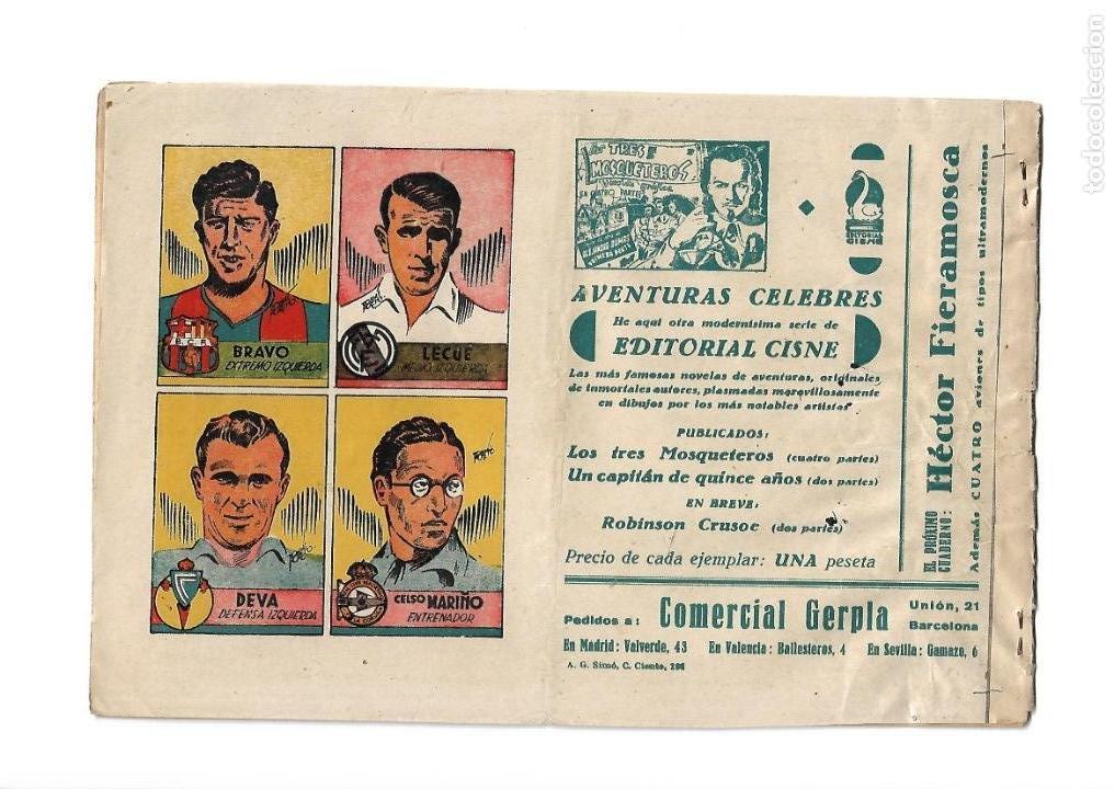 Tebeos: Peliculas Famosas, Año 1.944. Colección Completa son 33. Tebeos Originales Editorial Cliper. - Foto 11 - 138737574