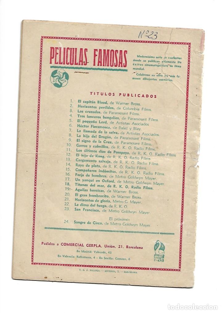 Tebeos: Peliculas Famosas, Año 1.944. Colección Completa son 33. Tebeos Originales Editorial Cliper. - Foto 57 - 138737574