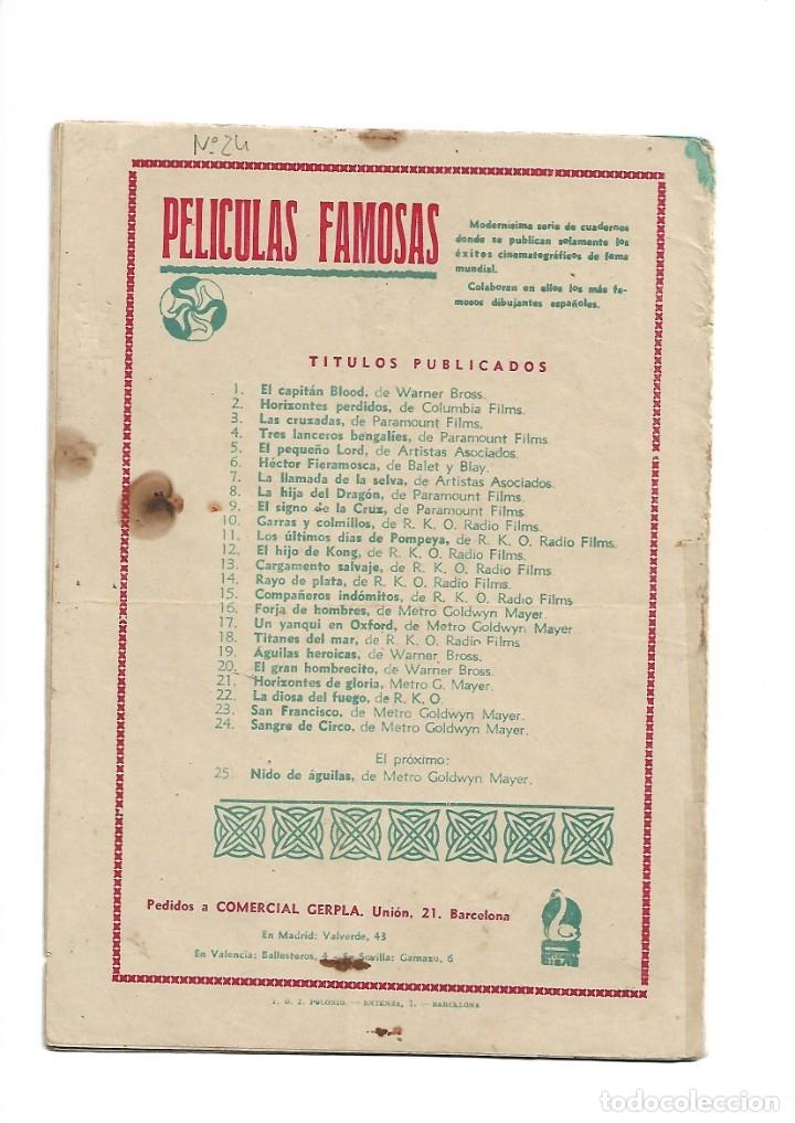Tebeos: Peliculas Famosas, Año 1.944. Colección Completa son 33. Tebeos Originales Editorial Cliper. - Foto 59 - 138737574