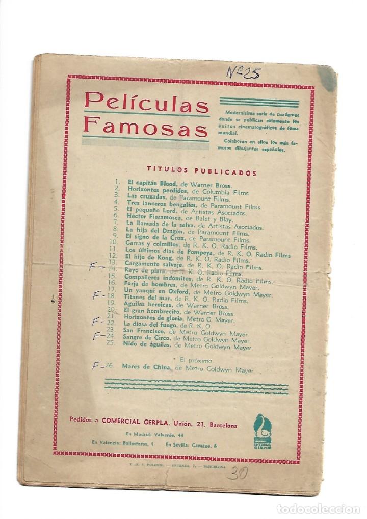 Tebeos: Peliculas Famosas, Año 1.944. Colección Completa son 33. Tebeos Originales Editorial Cliper. - Foto 61 - 138737574