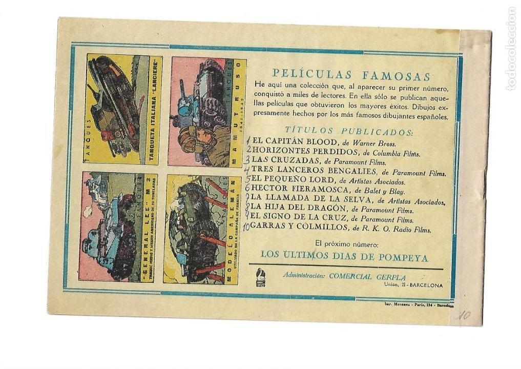 Tebeos: Peliculas Famosas, Año 1.944. Colección Completa son 33. Tebeos Originales Editorial Cliper. - Foto 21 - 138737574