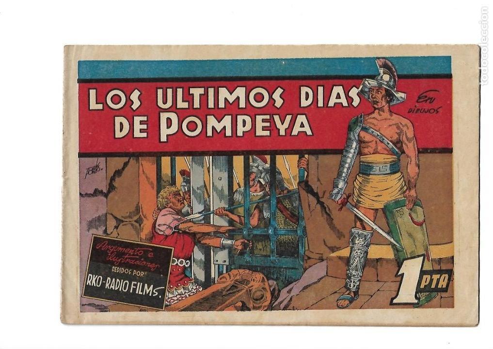 Tebeos: Peliculas Famosas, Año 1.944. Colección Completa son 33. Tebeos Originales Editorial Cliper. - Foto 22 - 138737574