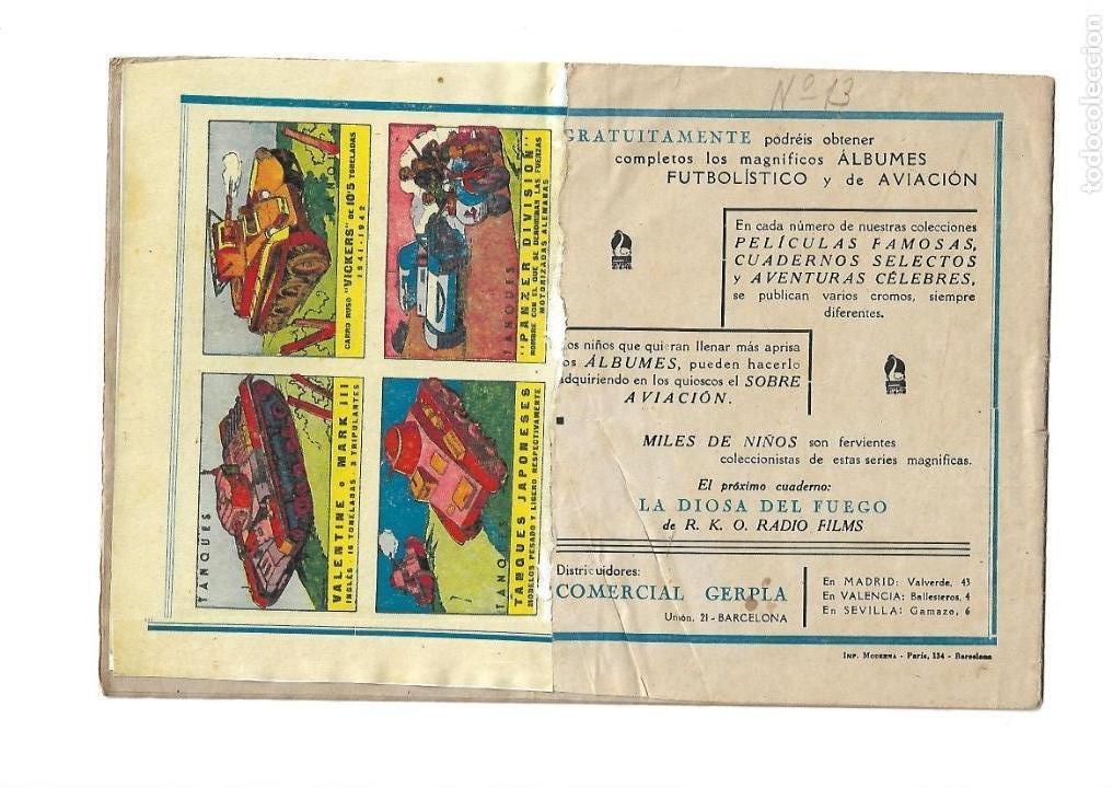 Tebeos: Peliculas Famosas, Año 1.944. Colección Completa son 33. Tebeos Originales Editorial Cliper. - Foto 27 - 138737574