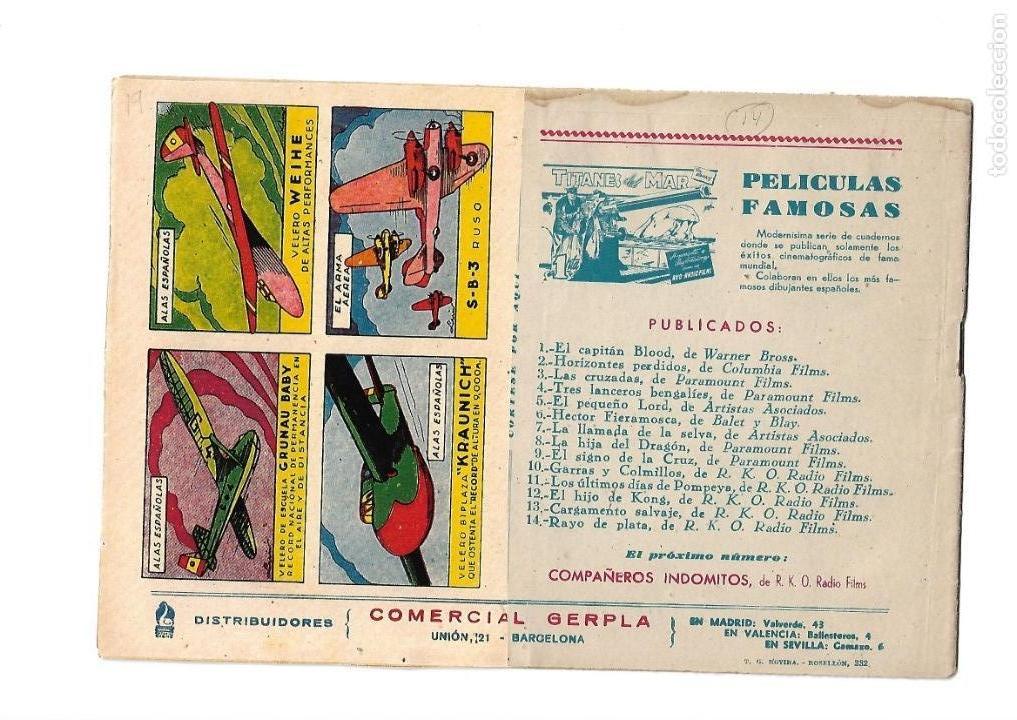 Tebeos: Peliculas Famosas, Año 1.944. Colección Completa son 33. Tebeos Originales Editorial Cliper. - Foto 29 - 138737574