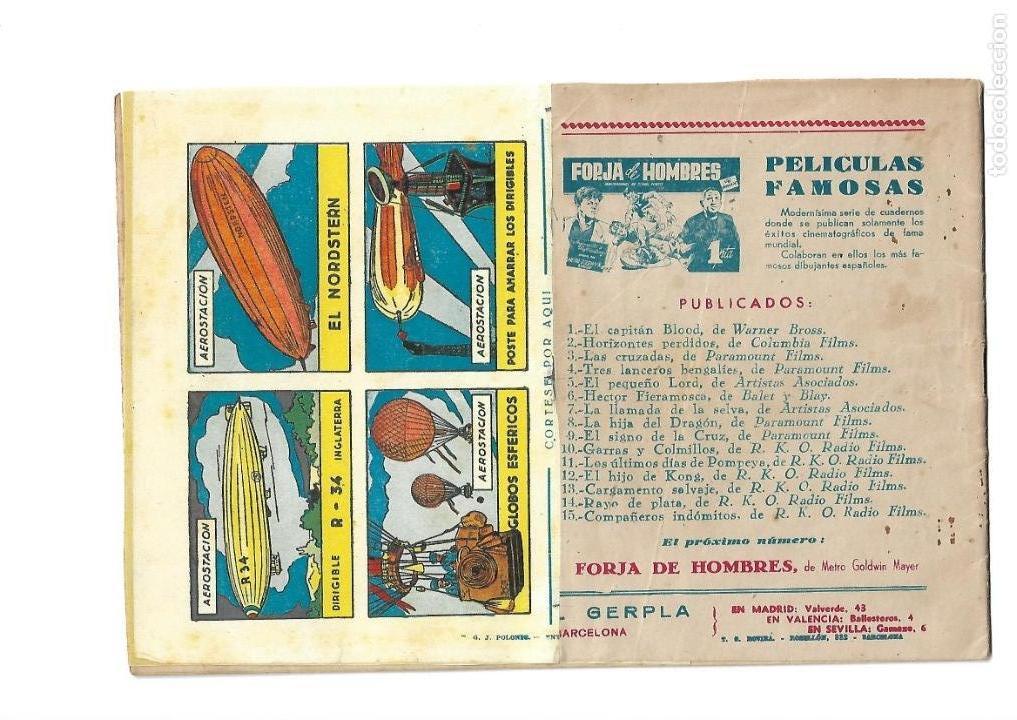 Tebeos: Peliculas Famosas, Año 1.944. Colección Completa son 33. Tebeos Originales Editorial Cliper. - Foto 31 - 138737574