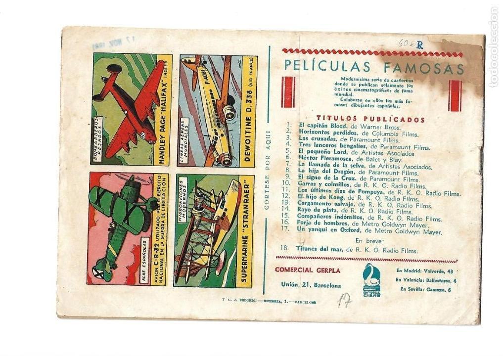 Tebeos: Peliculas Famosas, Año 1.944. Colección Completa son 33. Tebeos Originales Editorial Cliper. - Foto 35 - 138737574