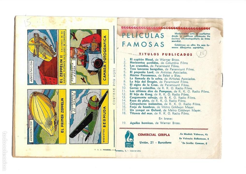 Tebeos: Peliculas Famosas, Año 1.944. Colección Completa son 33. Tebeos Originales Editorial Cliper. - Foto 37 - 138737574