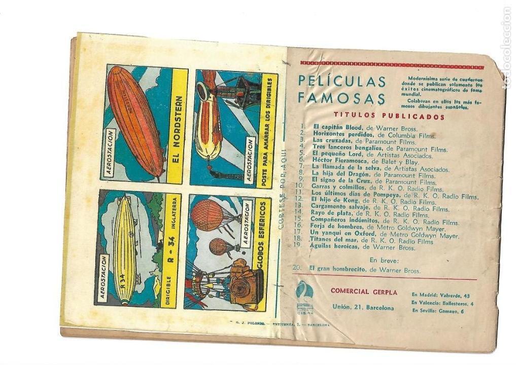 Tebeos: Peliculas Famosas, Año 1.944. Colección Completa son 33. Tebeos Originales Editorial Cliper. - Foto 39 - 138737574