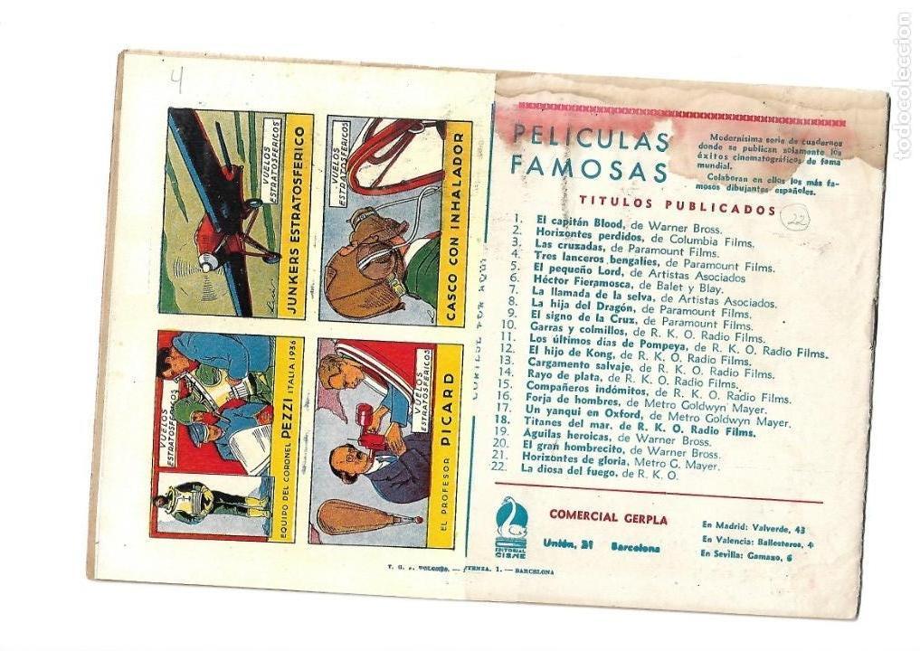 Tebeos: Peliculas Famosas, Año 1.944. Colección Completa son 33. Tebeos Originales Editorial Cliper. - Foto 45 - 138737574