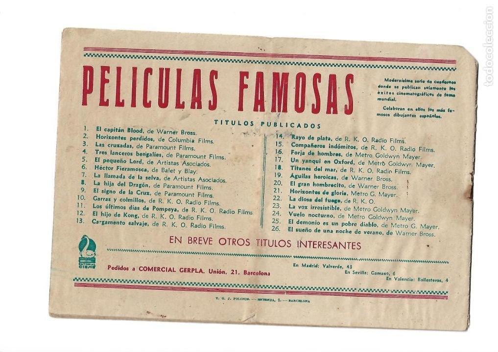 Tebeos: Peliculas Famosas, Año 1.944. Colección Completa son 33. Tebeos Originales Editorial Cliper. - Foto 53 - 138737574