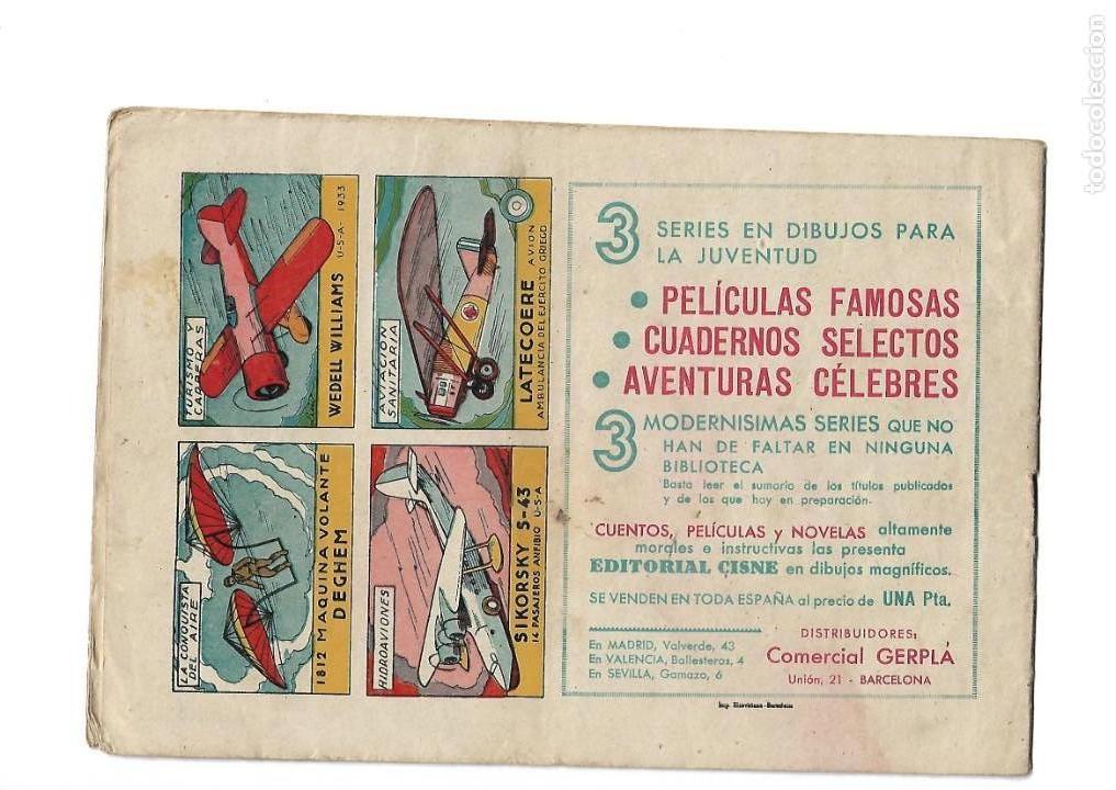 Tebeos: Aventuras Célebres, Año 1942 Colección Completa son 22 Tebeos Originales en 10 Colecciones Distintas - Foto 6 - 139018274