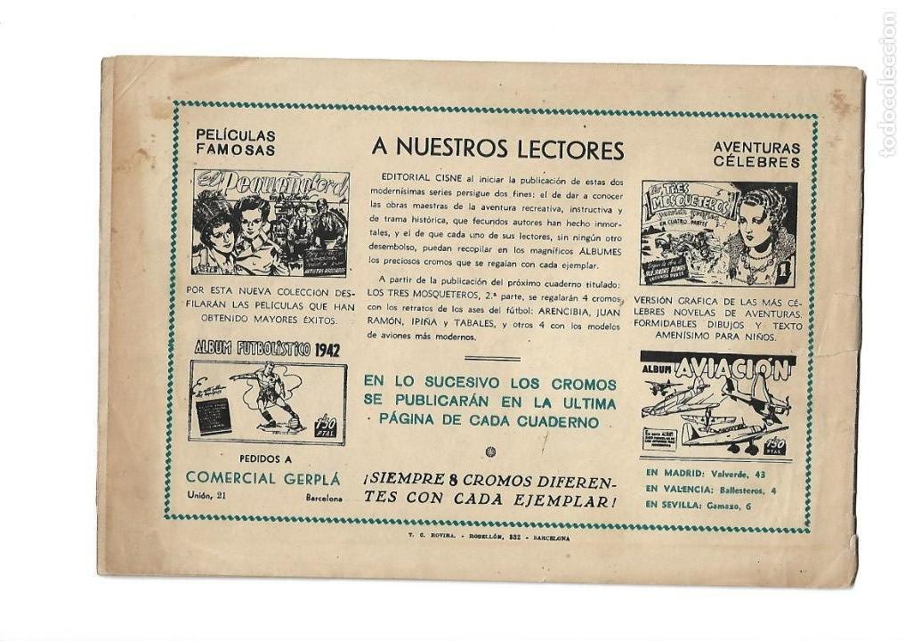 Tebeos: Aventuras Célebres, Año 1942 Colección Completa son 22 Tebeos Originales en 10 Colecciones Distintas - Foto 2 - 139018274