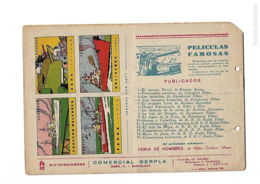 Tebeos: Aventuras Célebres, Año 1942 Colección Completa son 22 Tebeos Originales en 10 Colecciones Distintas - Foto 21 - 139018274