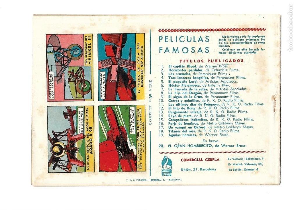 Tebeos: Aventuras Célebres, Año 1942 Colección Completa son 22 Tebeos Originales en 10 Colecciones Distintas - Foto 24 - 139018274