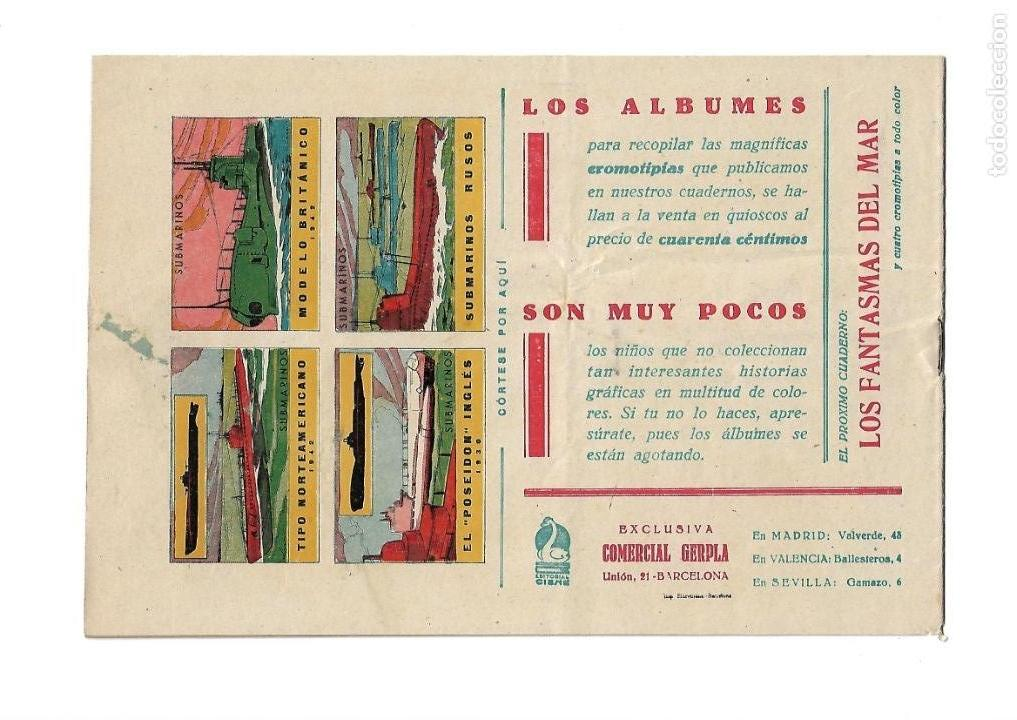 Tebeos: Aventuras Célebres, Año 1942 Colección Completa son 22 Tebeos Originales en 10 Colecciones Distintas - Foto 28 - 139018274