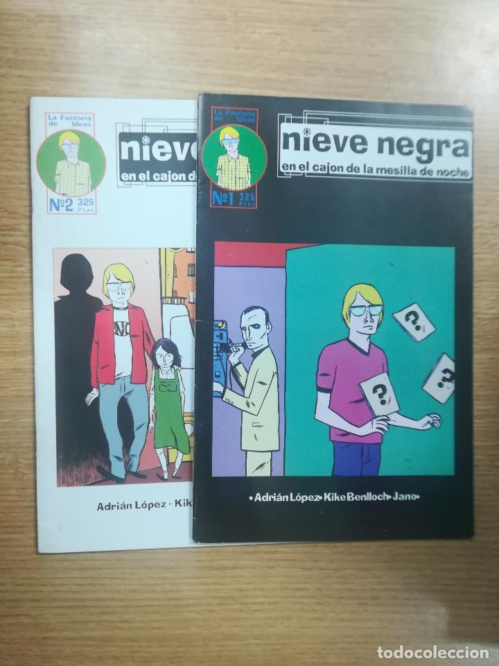NIEVE NEGRA COLECCIÓN COMPLETA (2 NUMEROS) (Tebeos y Comics - Tebeos Colecciones y Lotes Avanzados)