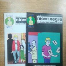 Tebeos: NIEVE NEGRA COLECCIÓN COMPLETA (2 NUMEROS). Lote 139141894